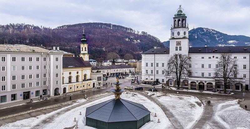 Place Mozart, Centre-ville, Salzbourg