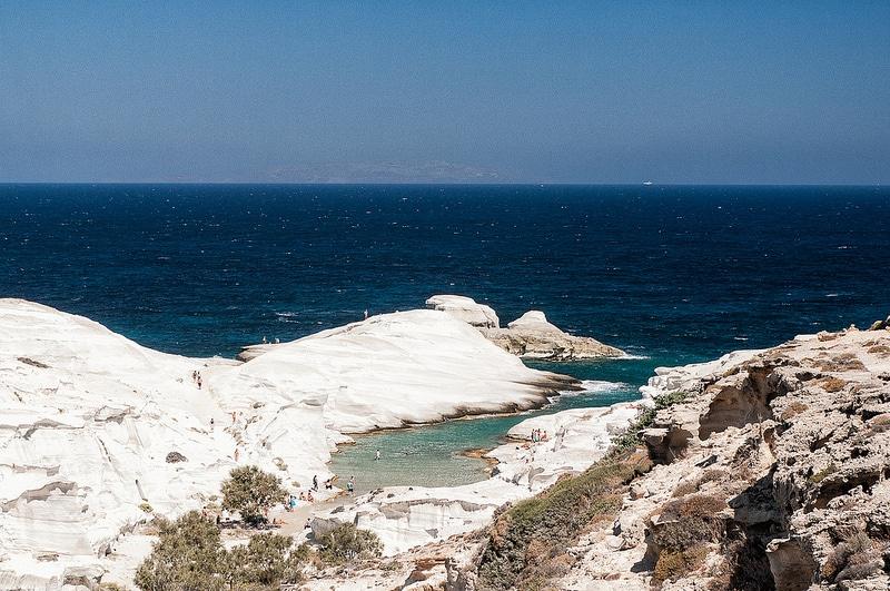 Plage Sarakiniko, Gavdos, Crète
