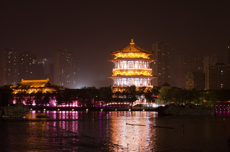 Tang Paradise, Xi'An, Chine