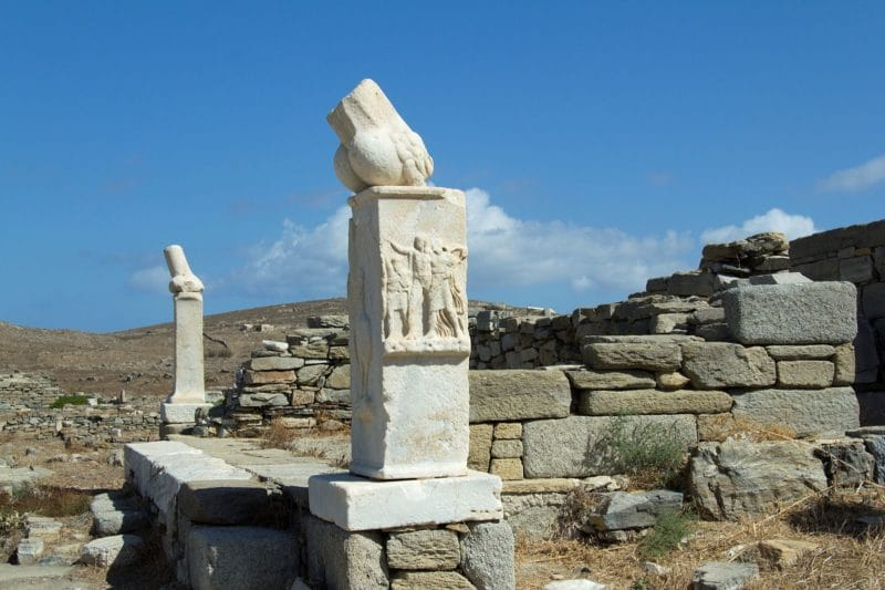 Temple de Dionysos, Délos