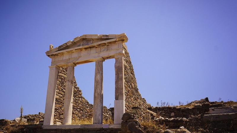 Temple d'Isis, Délos