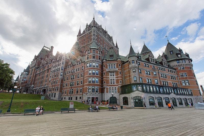 Promenade des Gouverneurs, Terrasse Dufferin, Québec City