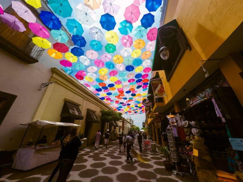 Parapluies, Tlaquepaque, Guadalajara