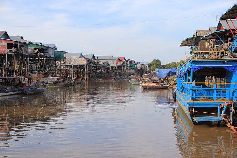 Villages flottants, Lac de Tonlé Sap, Siem Reap