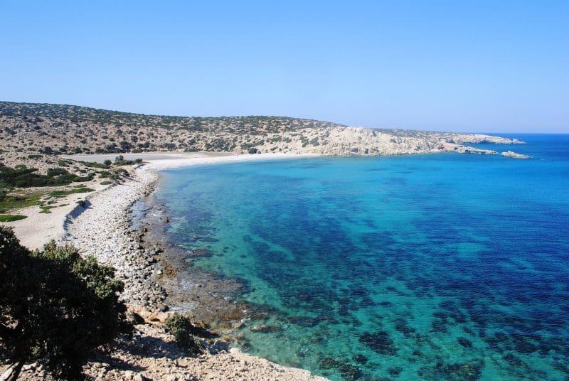 Plage Tripiti, Gavdos, Crète