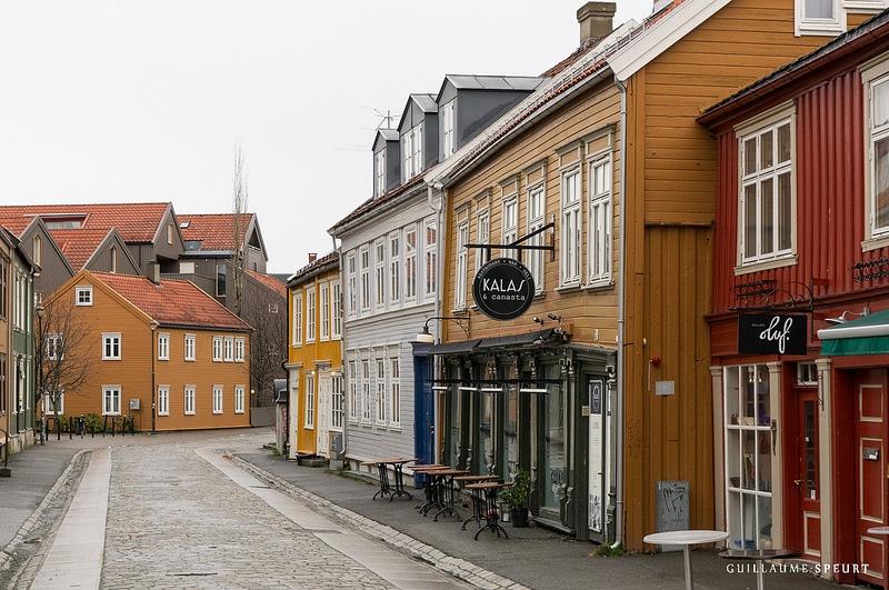 Vieille ville, Old Town, Trondheim
