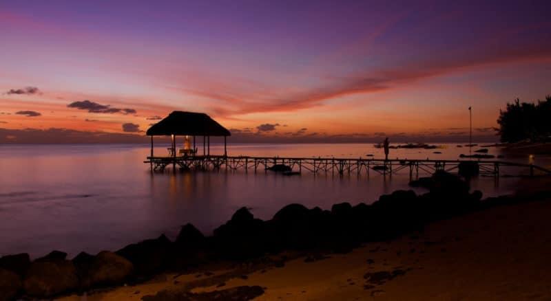 Plage du Trou aux Biches, Île Maurice