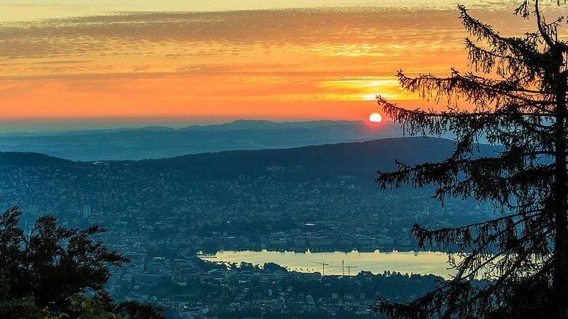 Panorama, Uetliberg, Zurich