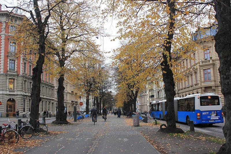 Vasagatan, loger à Goteborg