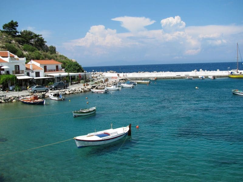 Se loger à Vathy, Samos