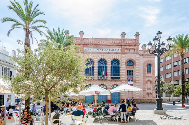 Vieille ville, centre, Cadix