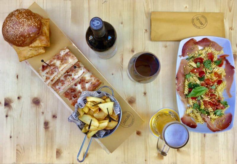 Tapas restaurant, Villaseta, Agrigente