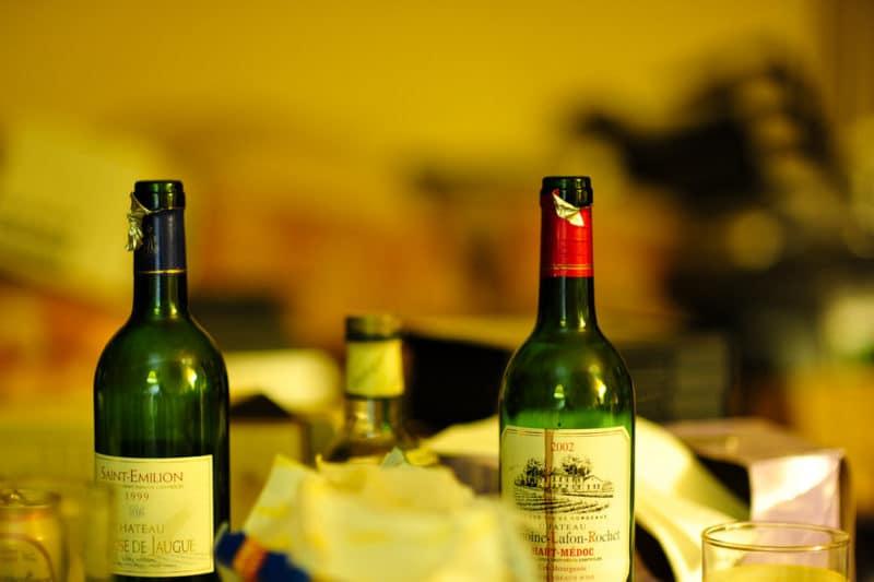 Dégustation de vins, Saint-Emilion, Vignobles, Bordeaux