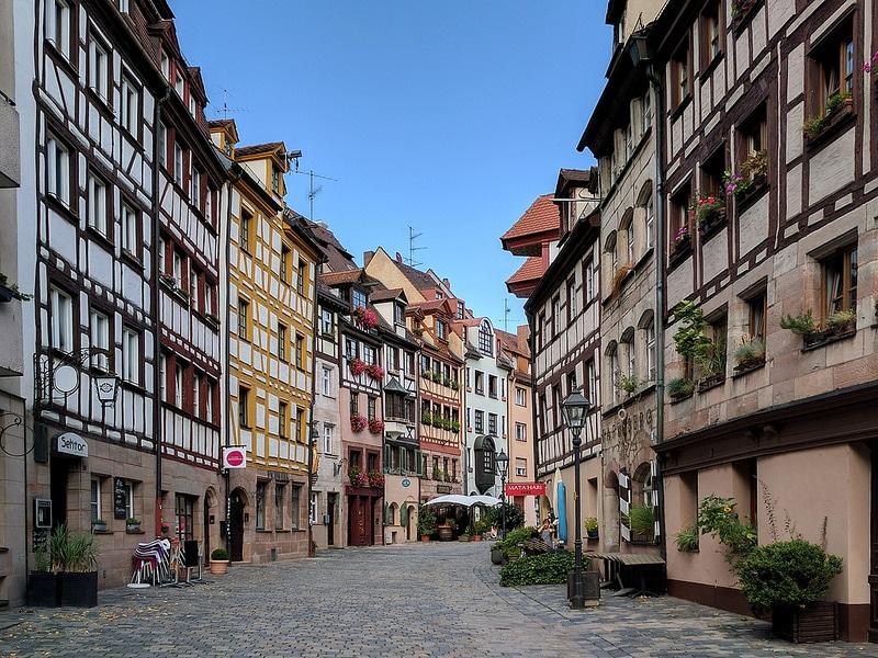 Weißgerbergasse, Nuremberg