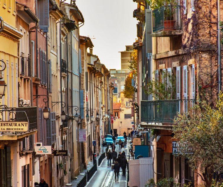 Centre ville, loger à Aix-en-Provence