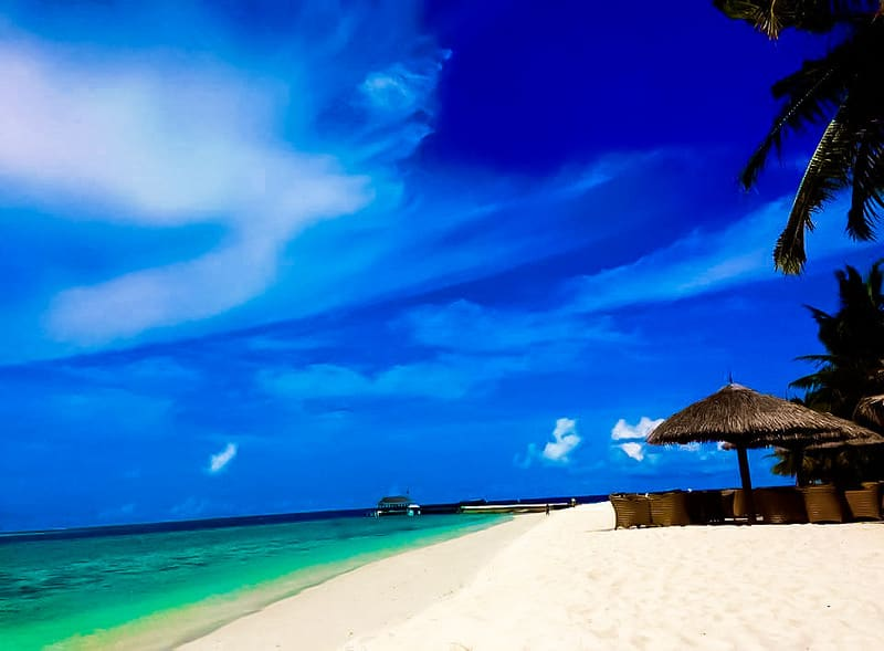 Île Alimatha, Maldives