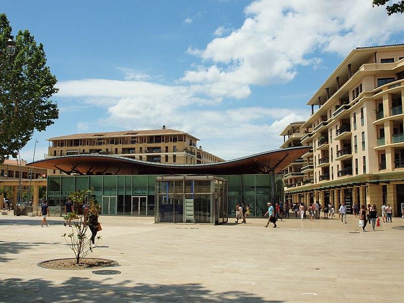 Allées Provençales, loger à Aix-en-Provence