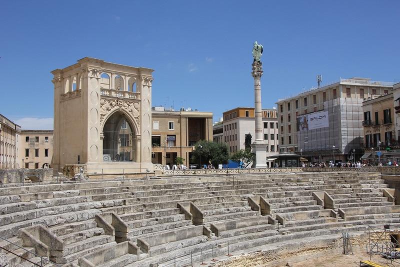 Amphithéâtre romain, Lecce