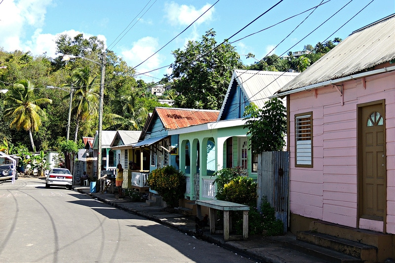 Anse-la-Raye, Sainte-Lucie