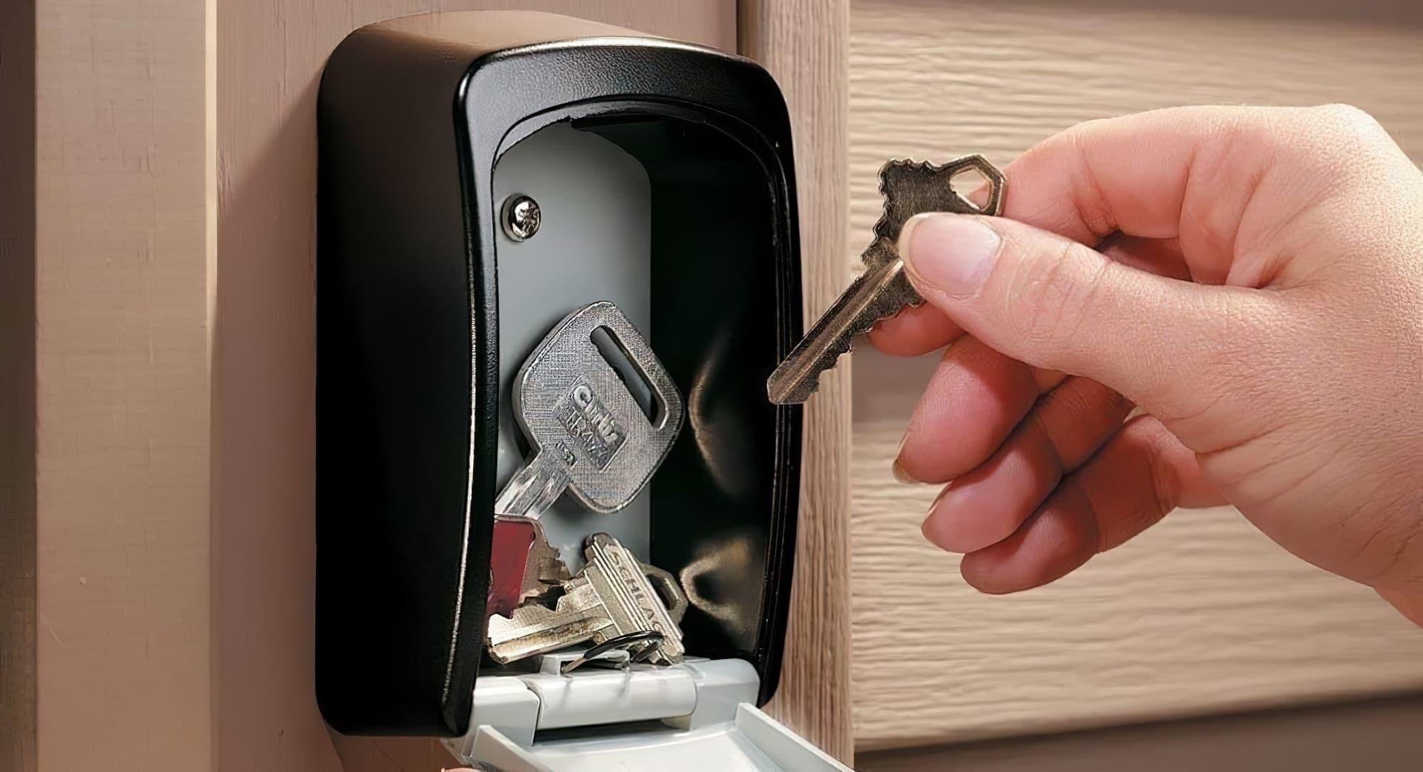 Boite à clés sécurisée, Airbnb