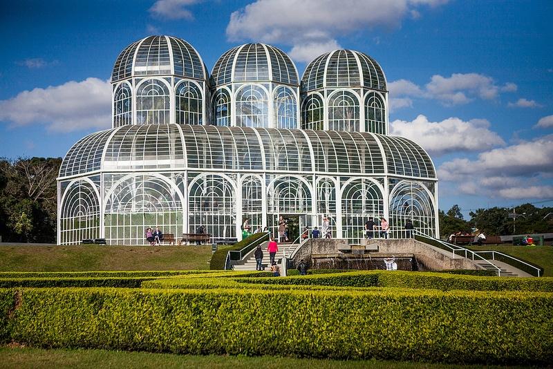 Jardin botanique, centre-ville, Curitiba