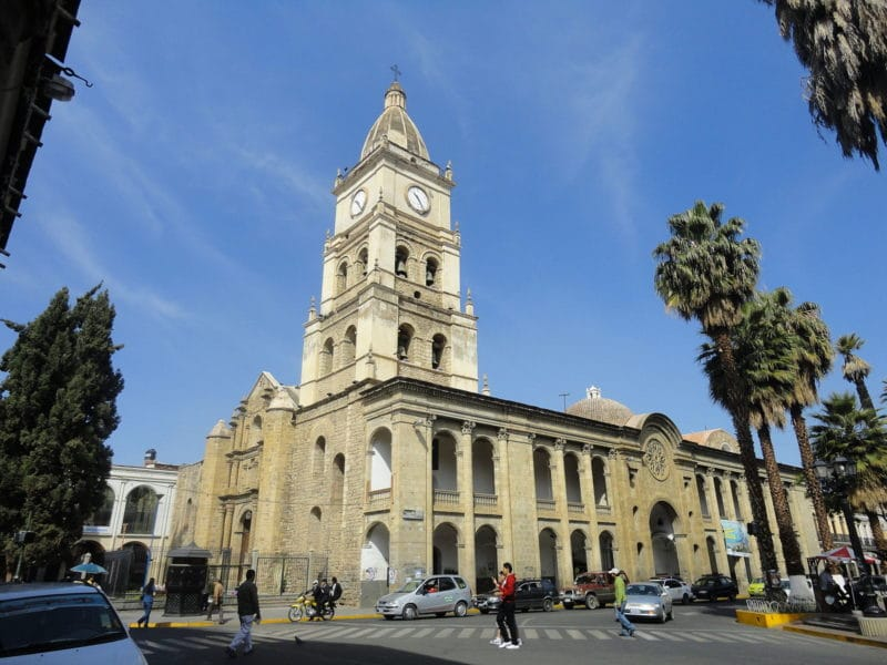 Cathédrale San Sebastiàn, Cochabamba