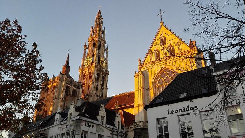 Cathédrale Notre Dame, Centre historique, Anvers