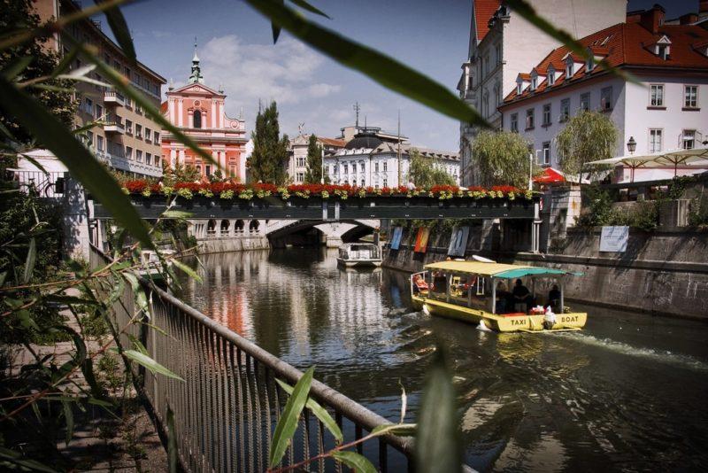 Centre-ville, centre historique, Ljubljana