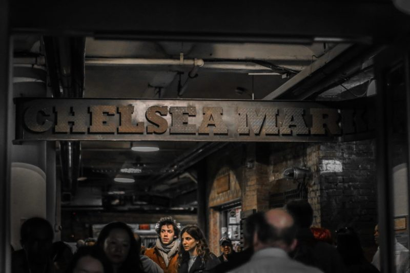 Chelsea market passage, High Line, New York