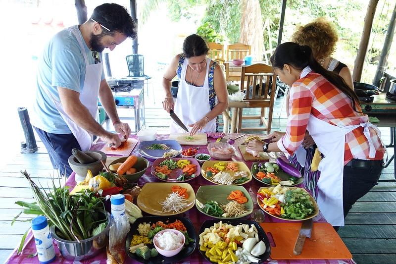 Thai paï, street food, Koh Phangan