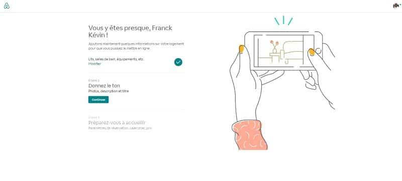 Créer annonce Airbnb, donnez le ton