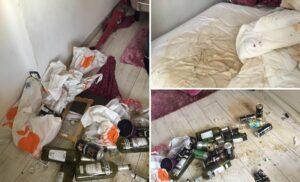 Dégâts appartement Airbnb
