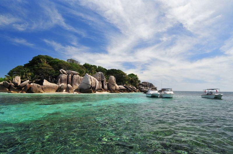 Île La Digue, Coco, Seychelles