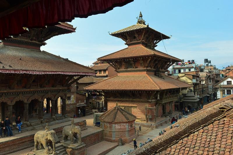 Durbar Square, Katmandou