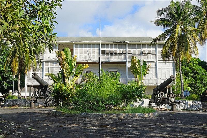 Maison du Gouverbeur de Mayotte, Dzaoudzi, Mayotte