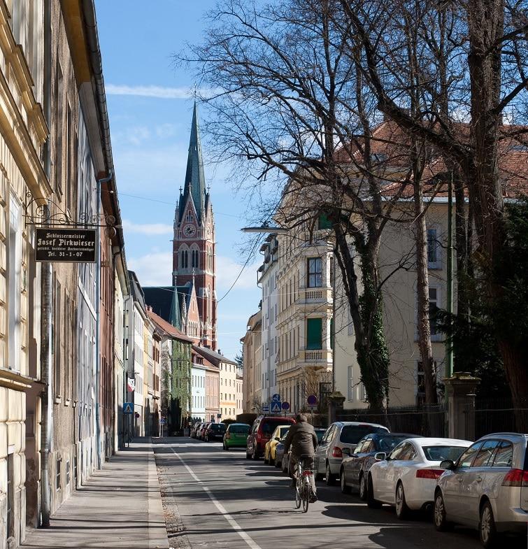 Quartier est, loger à Graz