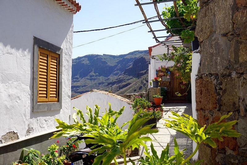 Village de Fataga, Grande Canarie