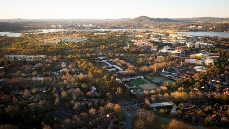 View of Forrest, Canberra