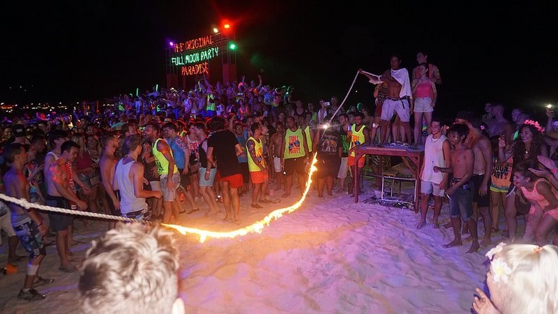 Full Moon Party, Ko Pha Ngan