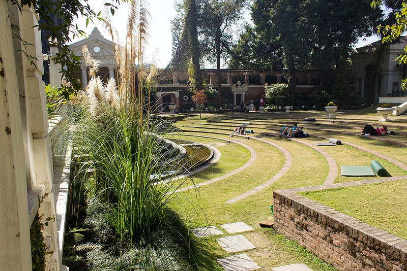 Jardin des rêves, Katmandou