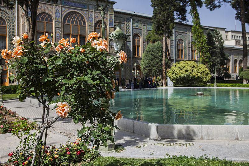 Palais du Golestan, Téhéran