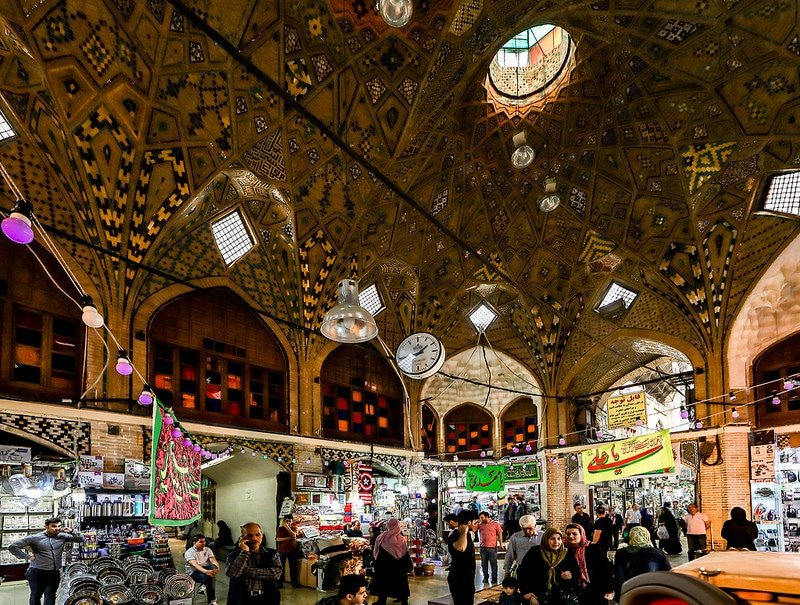 Grand Bazar, Téhéran