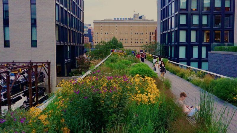 Visiter la High Line, New-York