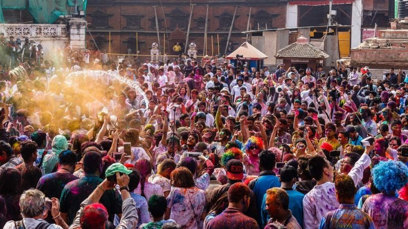 Holi Festival, Katmandou