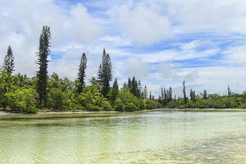 Plage, Île aux Pins, Nouvelle Calédonie
