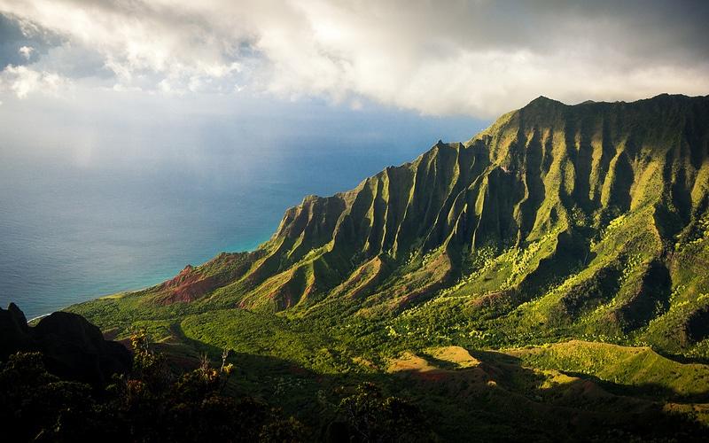 Logement sur l'île de Kauai, Kalalau Valley, Hawai