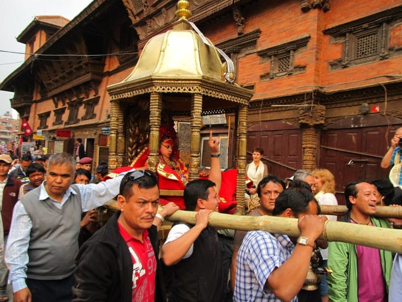 Kumari de Katmandou