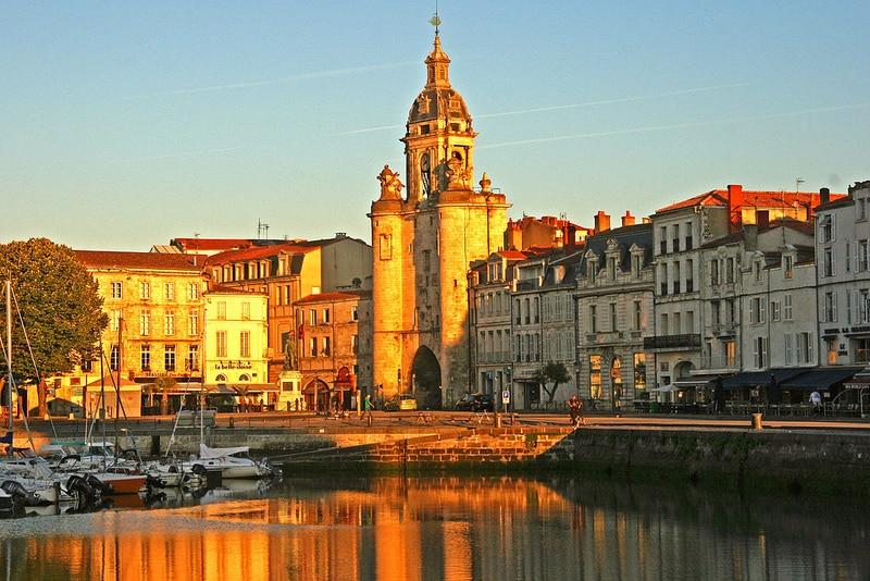 Port de la Rochelle, Centre-ville