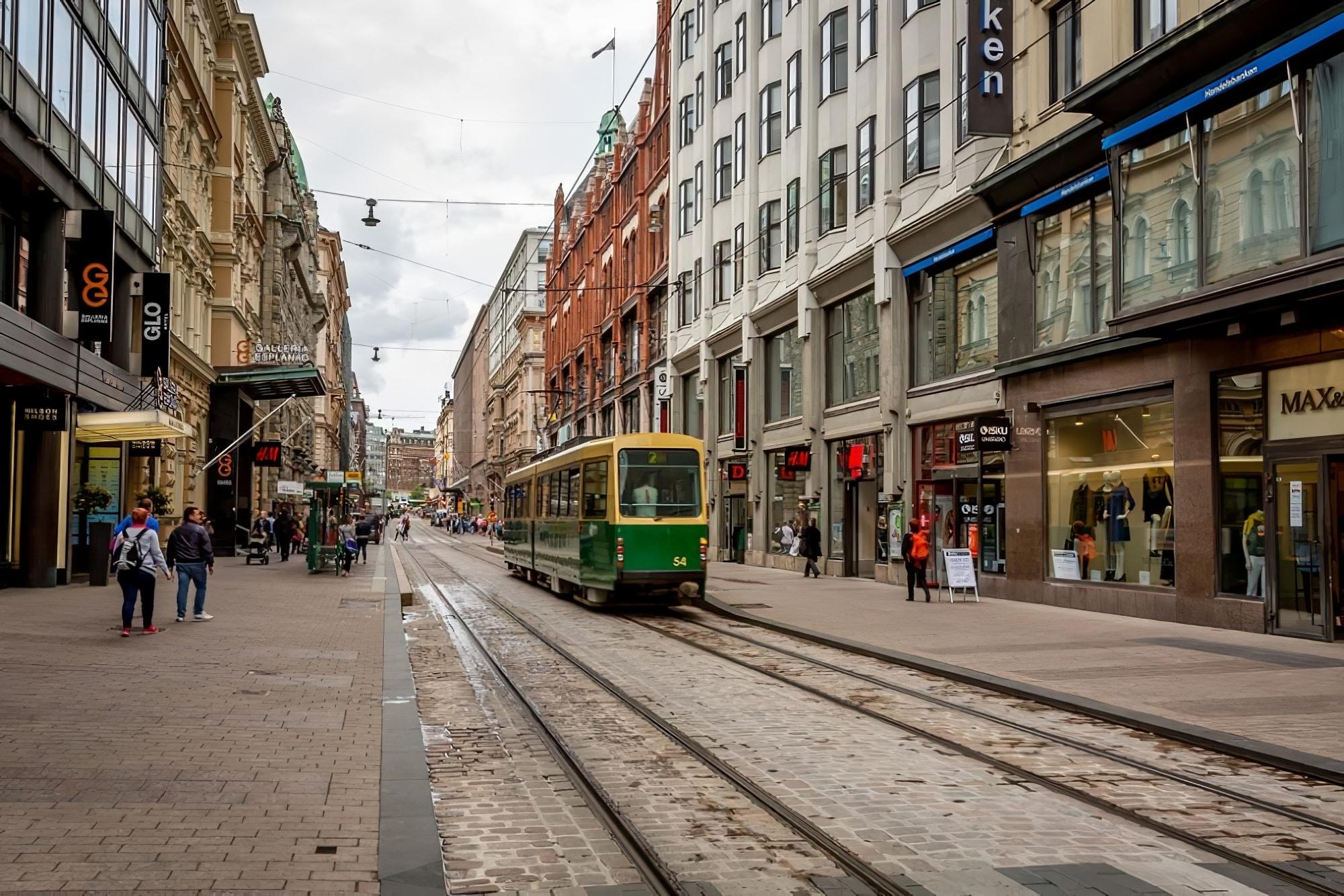 Helsinki branchement