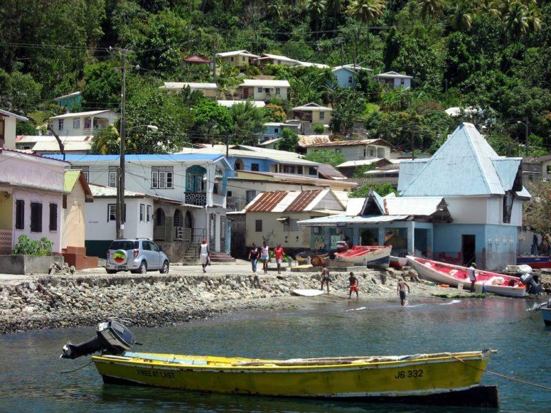 Soufrière, Sainte-Lucie